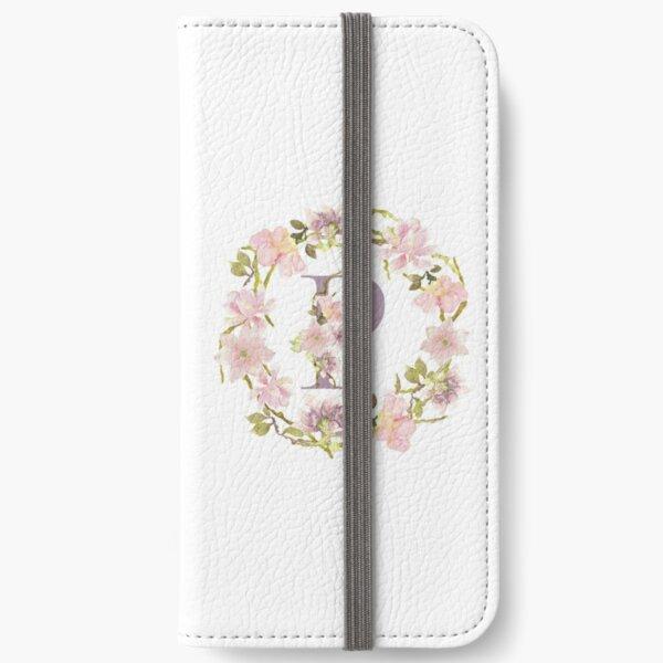 Letter P - decorative monogram iPhone Wallet