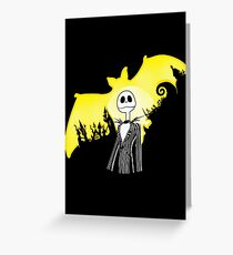 The Dark Nightmare Rises Greeting Card