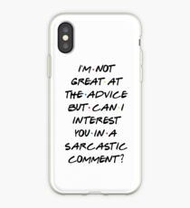 CAN I INTEREST YOU IN A SARCASTIC COMMENT? iPhone Case