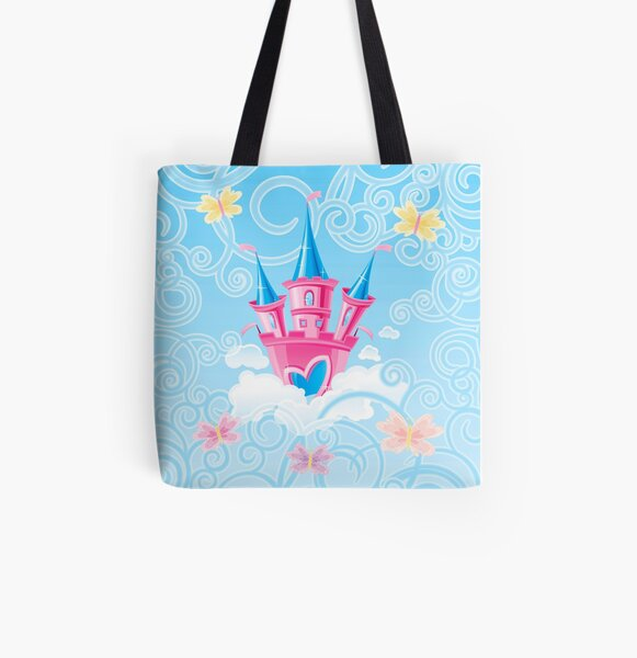 Fairy Castle All Over Print Tote Bag