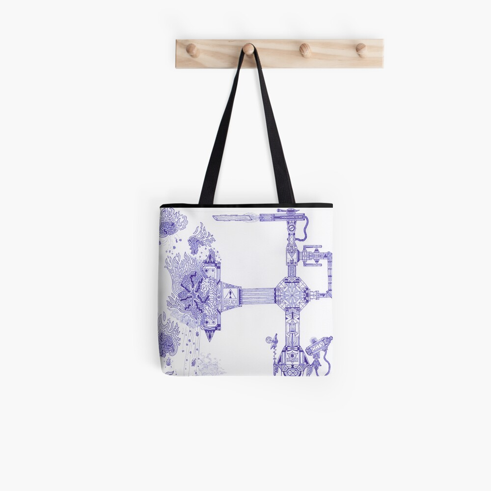 M.I. #13 |☽| The Molten-Mechanical Clash. Tote Bag