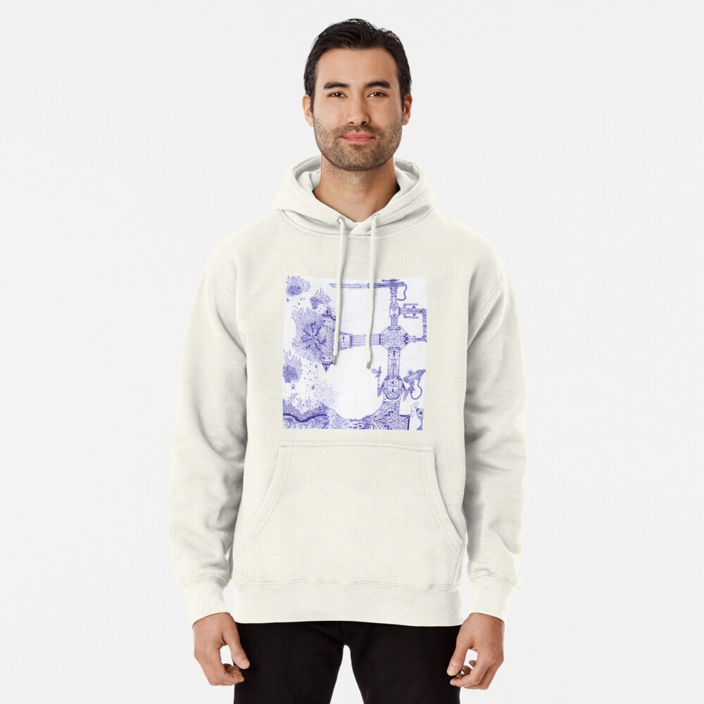 M.I. #13 |☽| The Molten-Mechanical Clash. Pullover Hoodie