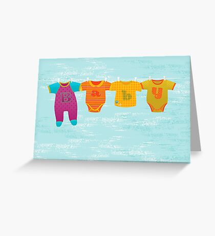 Greeting Card for Baby Boy Greeting Card