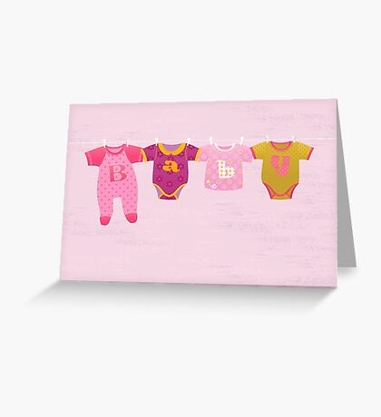 Greeting Card for Baby Girl Greeting Card