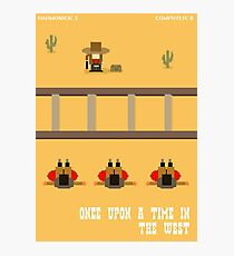 Once Upon a Time in the West- 8 bit Photographic Print