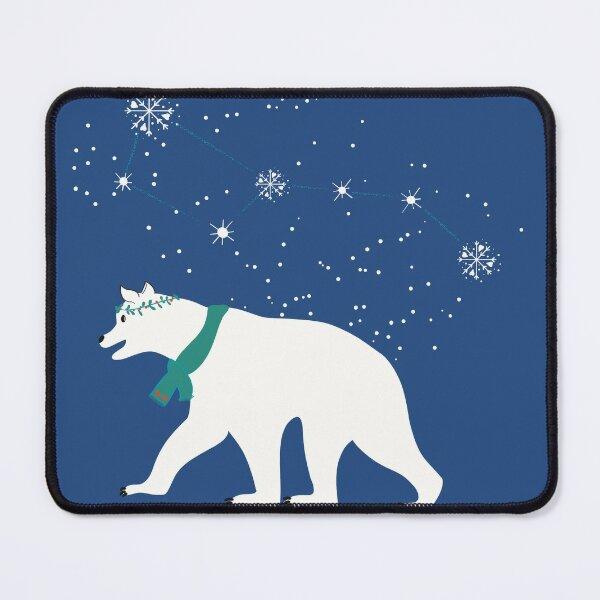 Ours de Noël Tapis de souris