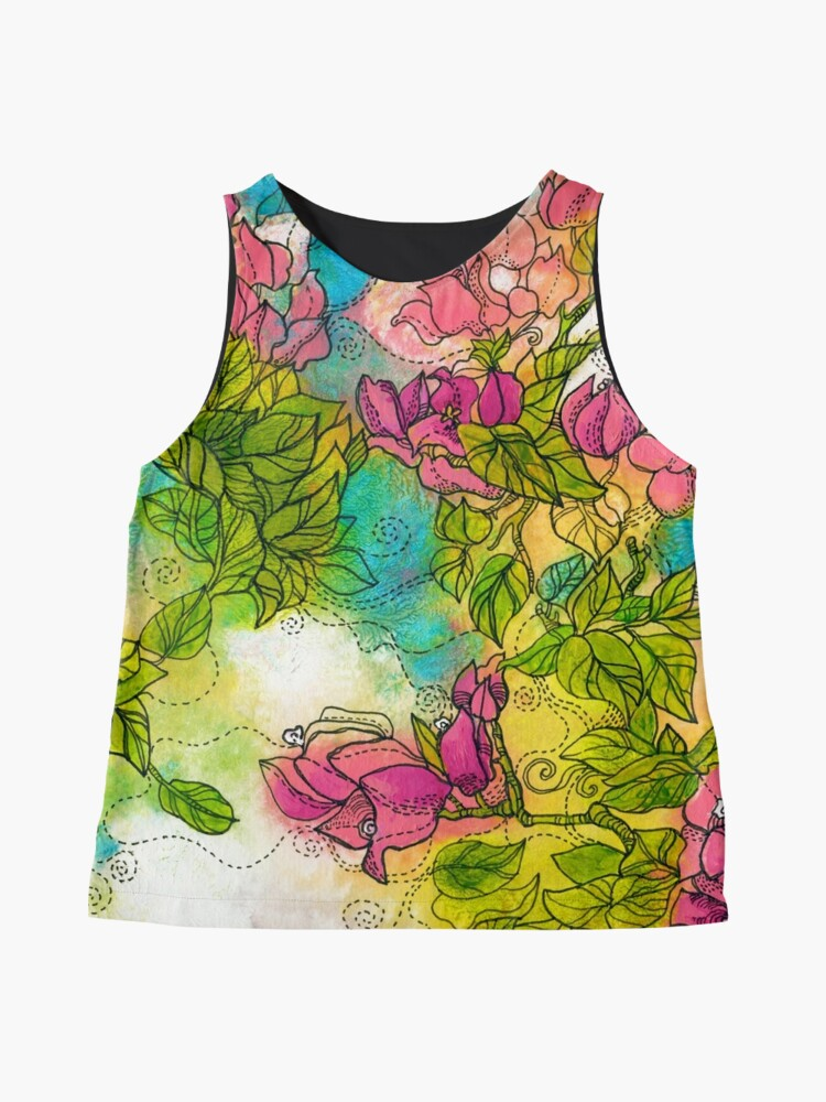 Alternate view of Tropical Flowers Sleeveless Top