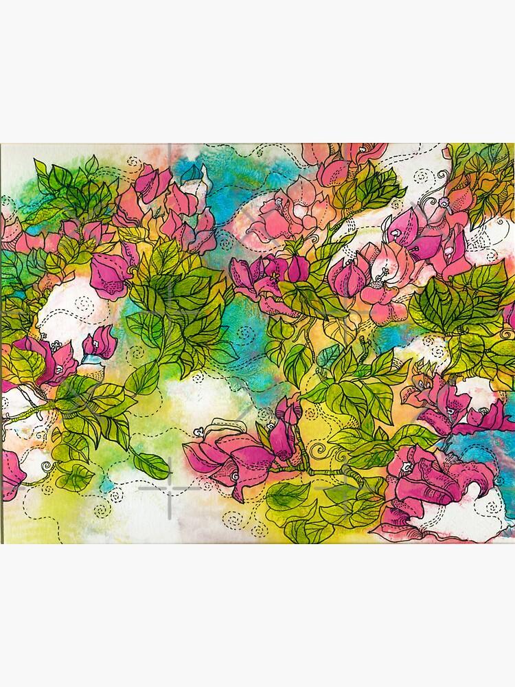 Tropical Flowers by rusanovska