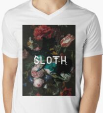 sloth Men's V-Neck T-Shirt
