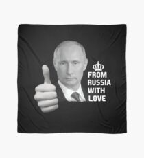 Vladimir Putin From Russia with Love Scarf