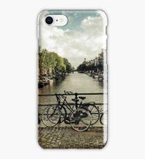 Amsterdam canal iPhone Case/Skin