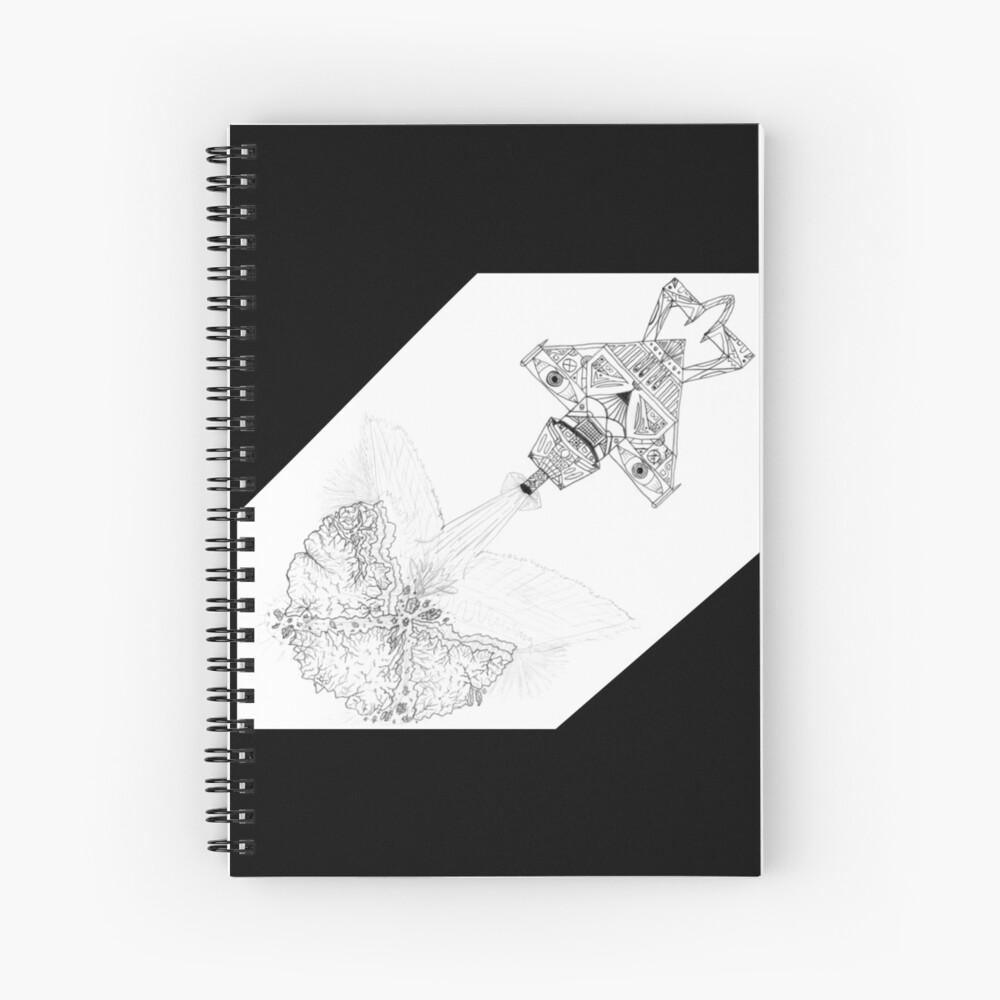 M.I. #3  ☽  Asteroidestroya Spiral Notebook