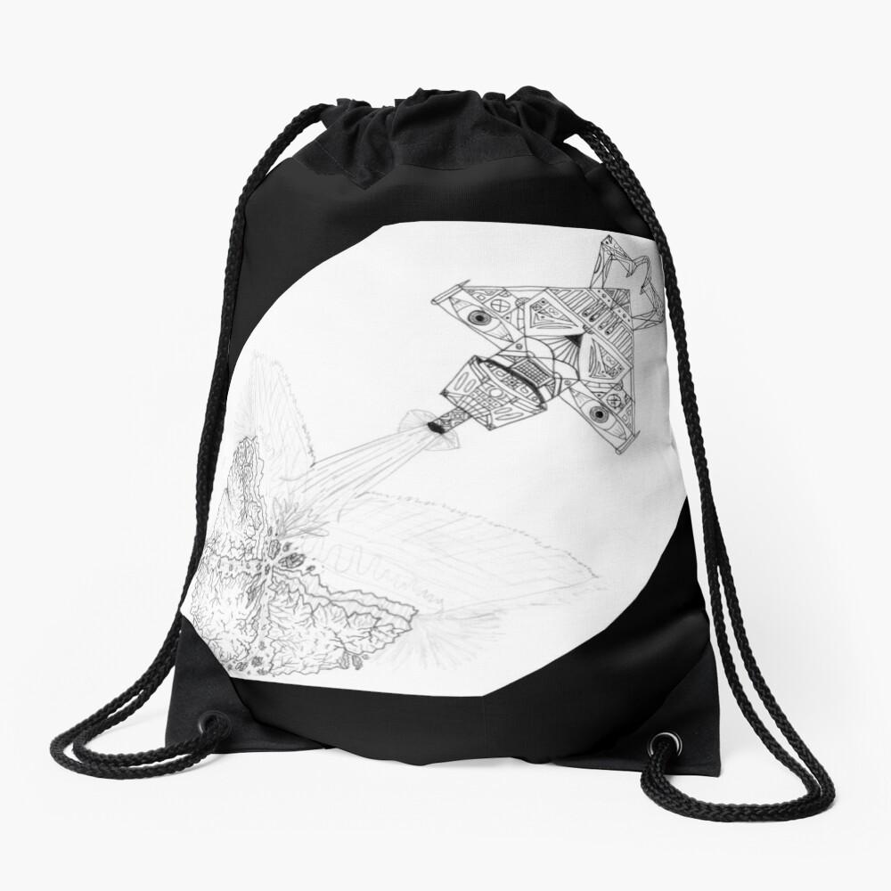 M.I. #3  ☽  Asteroidestroya Drawstring Bag