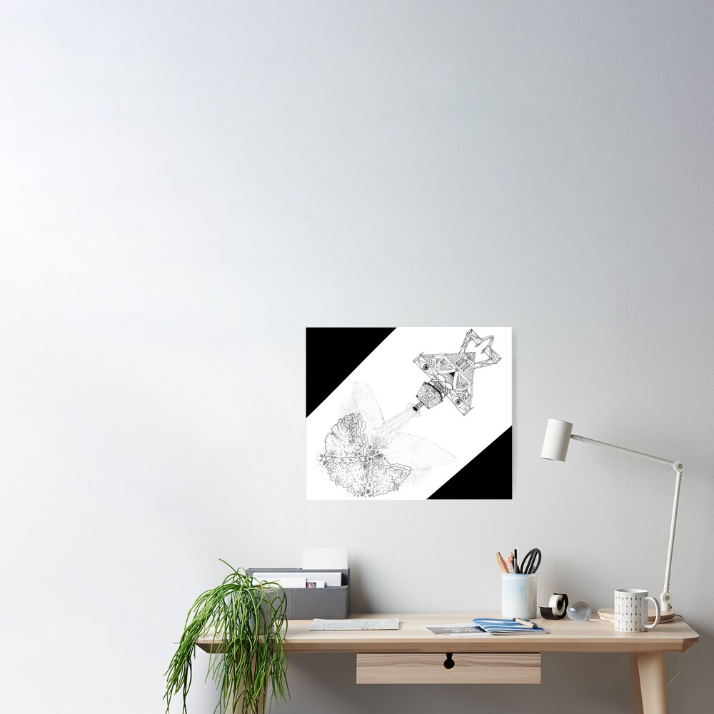 M.I. #3  ☽  Asteroidestroya Poster