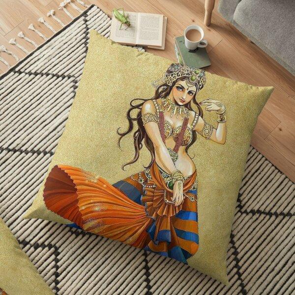 Indian Classic Dancer BabyBee Floor Pillow
