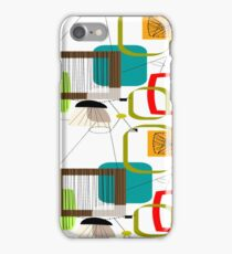 Mid Century Atomic Age Inspired Abstract iPhone Case/Skin