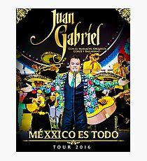 JUAN GABRIEL MEXXICO TOUR 2016 Photographic Print