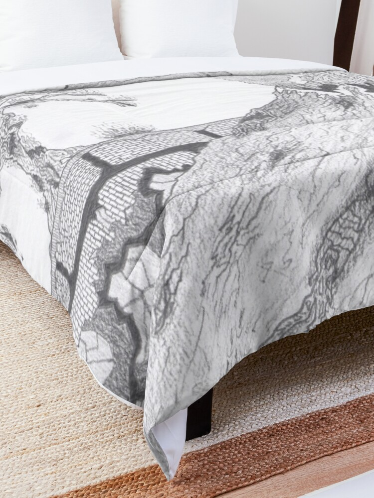 Alternate view of M.I. #36 |☽| Marblava Volcanicity Comforter