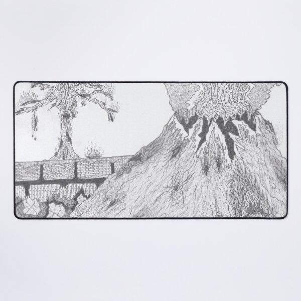 M.I. #36  ☽  Marblava Volcanicity Desk Mat