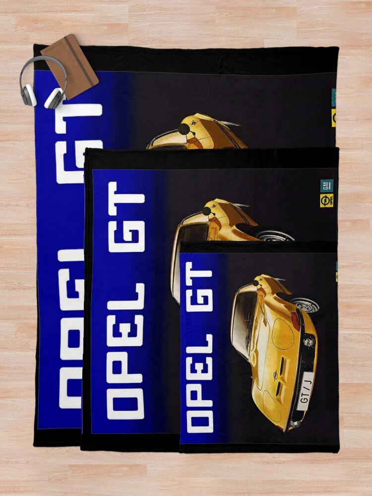 Alternative Ansicht von Opel Gt Fleecedecke