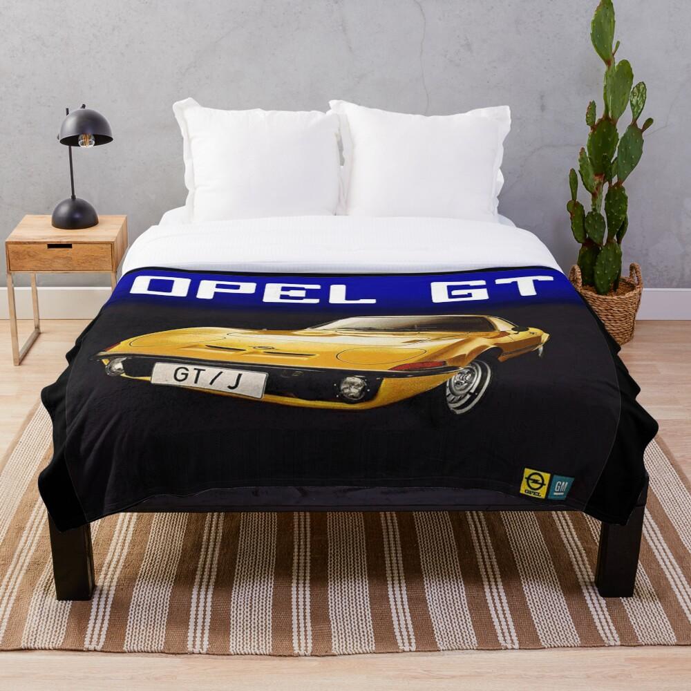 Opel Gt Fleecedecke
