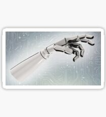 Robotic arm Sticker