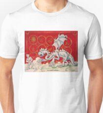 The Jabberwock (Medieval Illustration) Unisex T-Shirt
