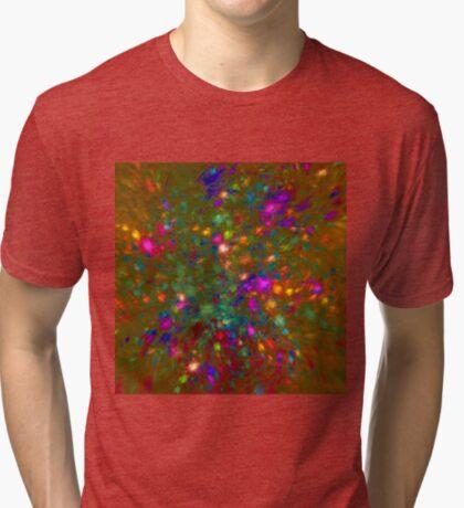 Autumn #fractal art Tri-blend T-Shirt