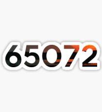 65072 Sticker