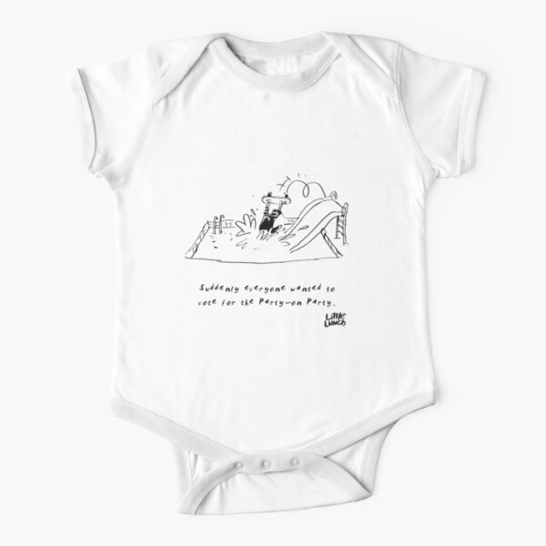 Little Lunch: The Election Short Sleeve Baby One-Piece
