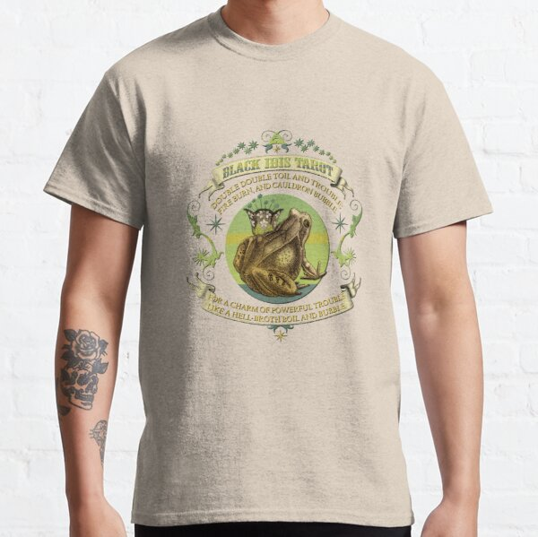 The Black Ibis Tarot - Queen of Chalices Classic T-Shirt