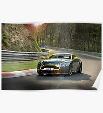 Aston Martin V8 Vantage N430 - Shot on Location at the Nurburgring. Poster