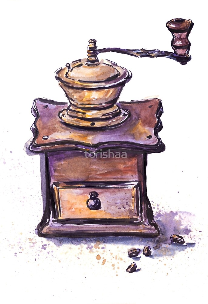 Coffee mill by torishaa