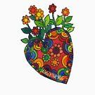 Blooming Heart #1 by TangerineMeg