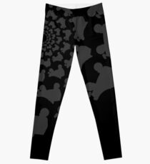 dark skate circle Leggings