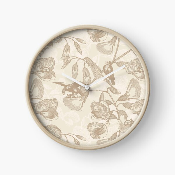 Sweet Pea Hiding Spot in Gold Clock