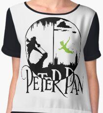 Peter Pan  Women's Chiffon Top
