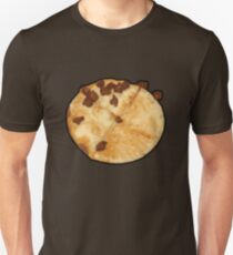 None Pizza with Left Beef Slim Fit T-Shirt