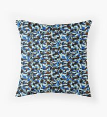 Camouflage Pinceau Throw Pillow
