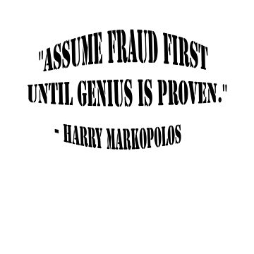 Assume Fraud Quote by nnerce