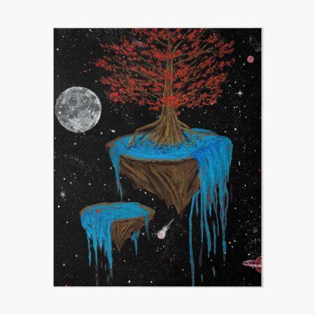 Cypress Falls Art Board Print