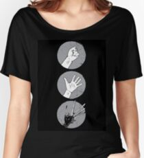 Rock, Paper, Scissor....hands Women's Relaxed Fit T-Shirt
