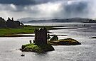 Castle Stalker , Stormy day by SWEEPER