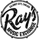 Ray's Music Exchange - Black by axemangraphics