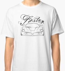 Race car in tribals Classic T-Shirt