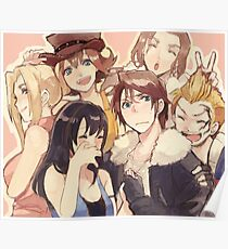 Squall & Friends Poster