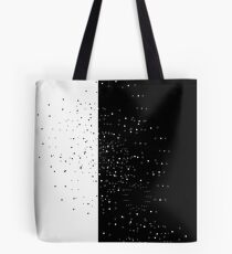 Vector modern abstract geometry squares pattern. black and white seamless geometric background . subtle pillow and bed sheet design. creative art deco. hipster fashion print Tote Bag