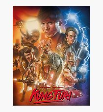 Kung Fury Fiction Film  Photographic Print