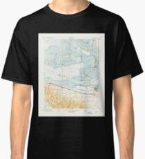 USGS TOPO Map California CA Honker Bay 296169 1918 31680 geo Classic T-Shirt