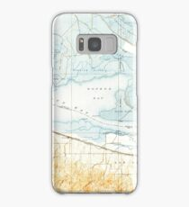 USGS TOPO Map California CA Honker Bay 296169 1918 31680 geo Samsung Galaxy Case/Skin